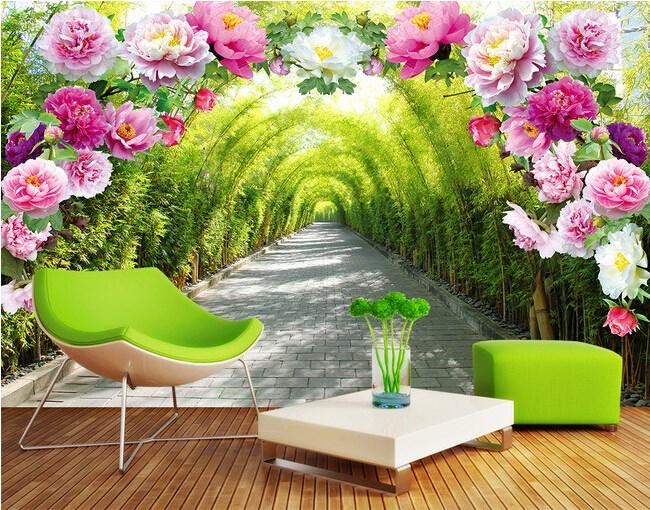 tranh dan tuong mat me 1 nnwq Sử dụng giấy dán tường, mang cả thiên nhiên vào nhà bạn!