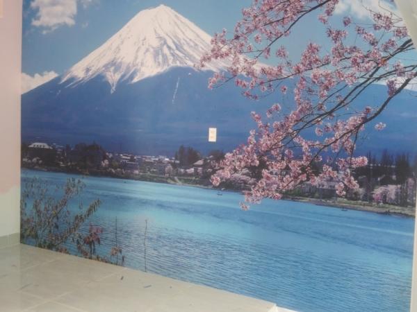 Tranh Vải Dán Tường 3D Núi Phú Sĩ Hoa Anh Đào 1df9dafeeb430c1d5552 1