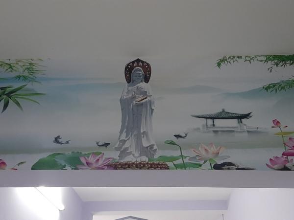 Tranh Dán Tường 3D Phật Mẹ Quan Âm Và Sen Trúc 43aaf315a5d4428a1bc5 1