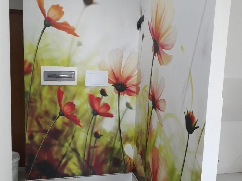 tranh dán tường 3d hoa xuân cùng ong vàng TRANH ONGVABONG