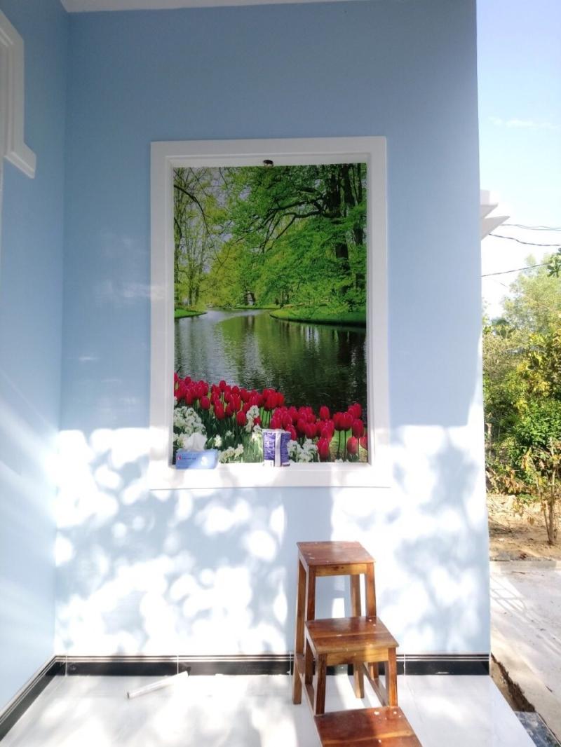 tranh dán tường 3d khung cửa sổ b6c6ff8ffcf91ea747e8