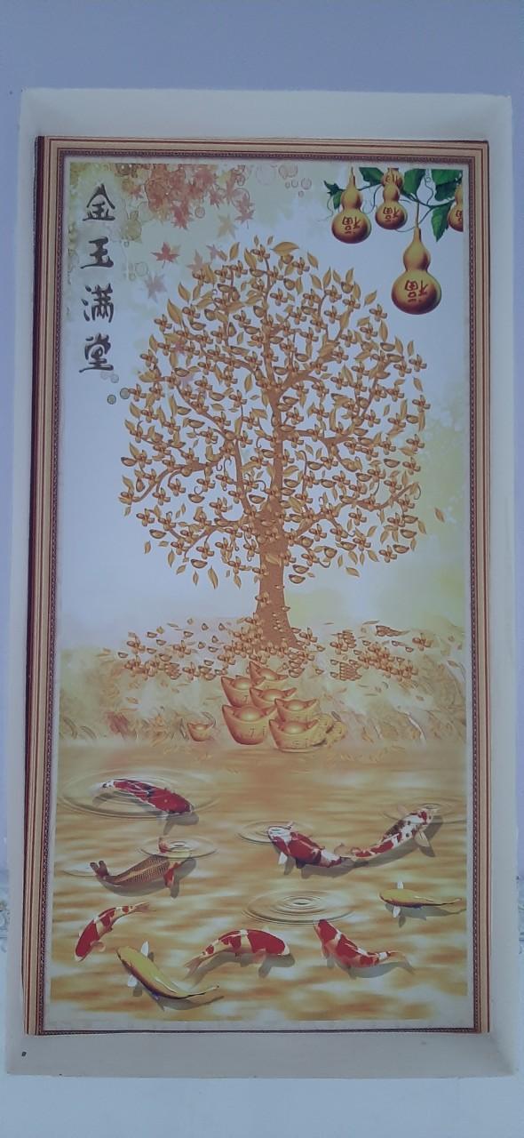 Tranh Dán Tường 3D Hồ Lô Kim Ngọc Mãn Đường efe68688df4938176158